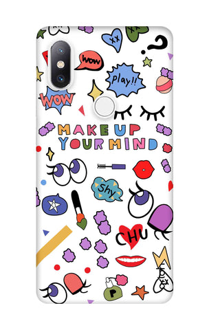 Makeup Your Mind Xiaomi Mi Mix 2S Cases & Covers Online