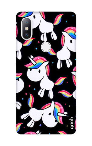 Colourful Unicorn Xiaomi Mi Mix 2S Cases & Covers Online