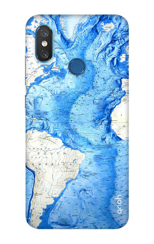 World Map Xiaomi Mi 8 Cases & Covers Online