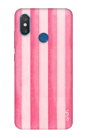 Painted Stripe Xiaomi Mi 8 Cases & Covers Online