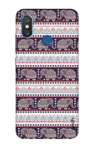 Elephant Pattern Xiaomi Mi 8 Cases & Covers Online
