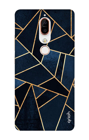 Abstract Navy Nokia X6 Cases & Covers Online