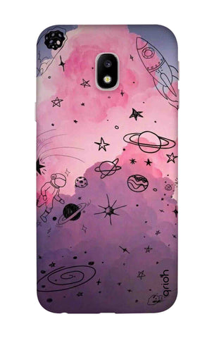 Space Doodles Art Samsung J3 2018 Cases & Covers Online
