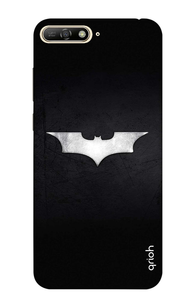 uk availability e0bcd fe910 Grunge Dark Knight Case for Huawei Y7 Pro 2018