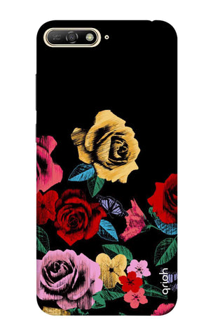 Colorful Flowers Huawei Y6 2018 Cases & Covers Online