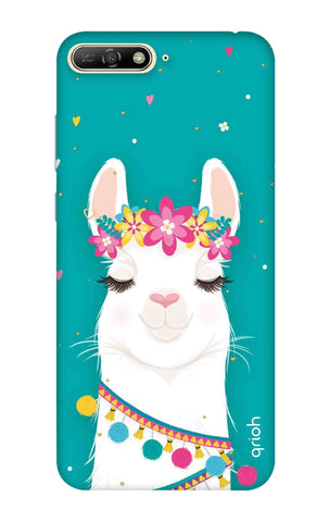 Cute Llama Huawei Y6 2018 Cases & Covers Online