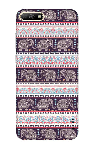 Elephant Pattern Huawei Y6 2018 Cases & Covers Online