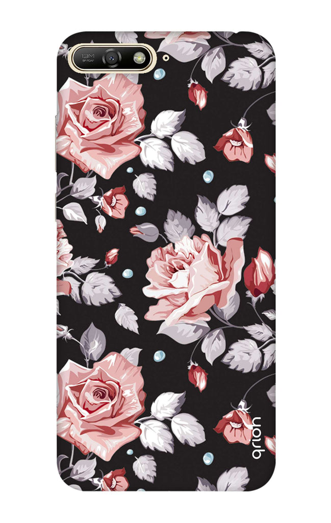 reputable site 4a8c7 54348 Shabby Chic Floral Case for Huawei Y6 2018