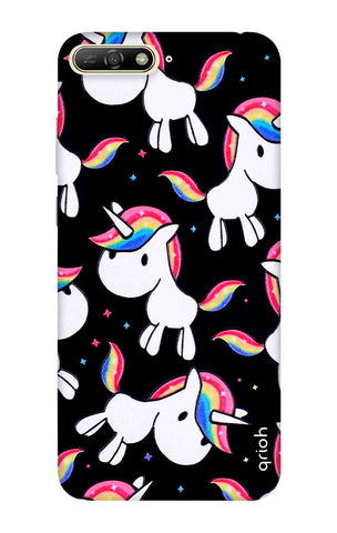 Colourful Unicorn Huawei Y6 2018 Cases & Covers Online