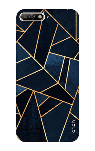 Abstract Navy Huawei Y6 2018 Cases & Covers Online