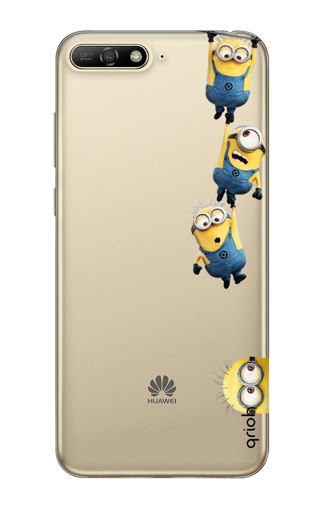 super popular 5001e bb03d Falling Minions Case for Huawei Y6 2018