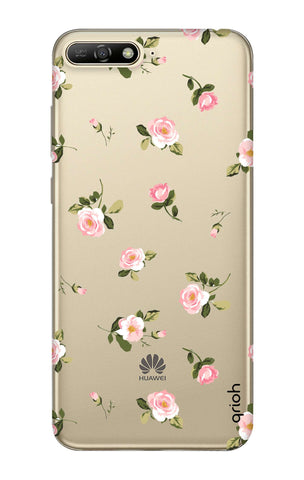 Pink Rose All Over Huawei Y6 2018  Cases & Covers Online