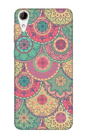 Colorful Mandala HTC 728 Cases & Covers Online
