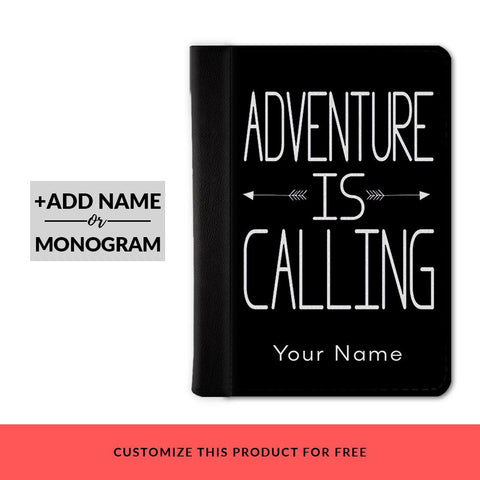 Adventure Is Calling Custom Passport Cover