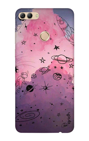 Space Doodles Art Huawei Y9 2018 Cases & Covers Online