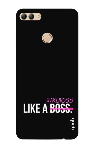Like A Girl Boss Huawei Y9 2018 Cases & Covers Online