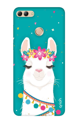 Cute Llama Huawei Y9 2018 Cases & Covers Online