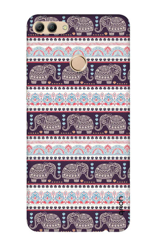 Elephant Pattern Huawei Y9 2018 Cases & Covers Online