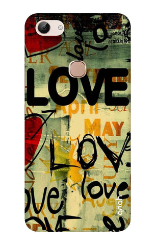 Love Text Vivo Y83 Cases & Covers Online