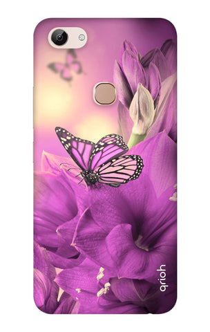 Purple Butterfly Vivo Y83 Cases & Covers Online