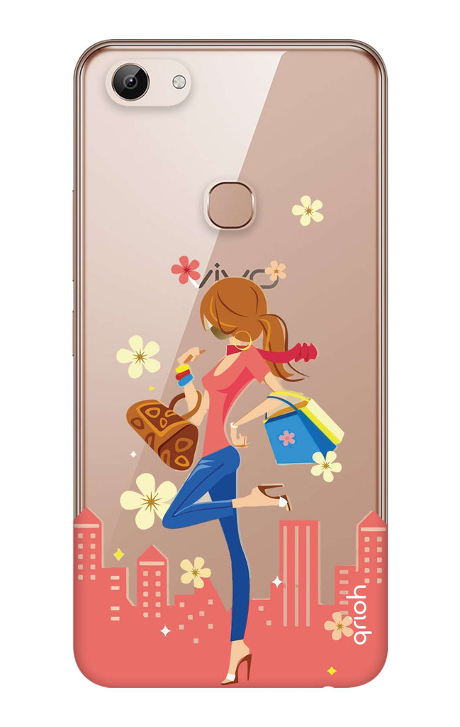 new product 57dd4 175d8 Shopping Girl Case for Vivo Y83