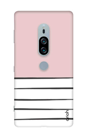 Horizontal Stripe Sony Xperia XZ2 Premium Cases & Covers Online