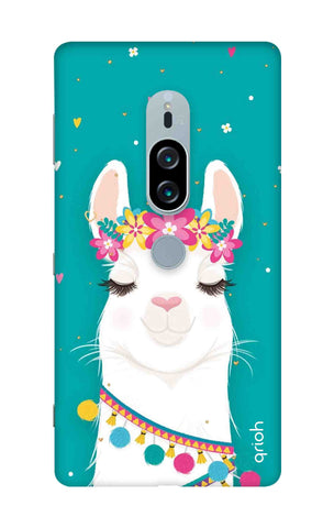 Cute Llama Sony Xperia XZ2 Premium Cases & Covers Online