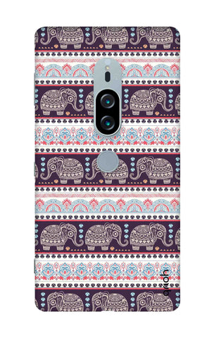 Elephant Pattern Sony Xperia XZ2 Premium Cases & Covers Online