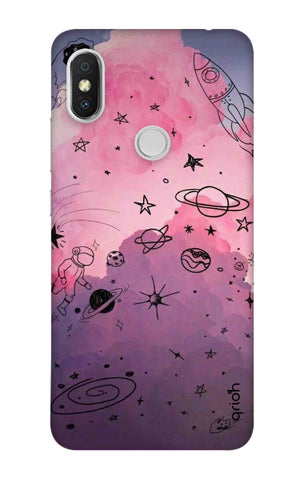 Space Doodles Art Xiaomi Redmi Y2 Cases & Covers Online