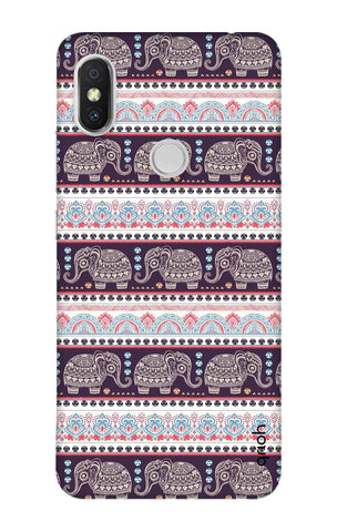 Elephant Pattern Xiaomi Redmi Y2 Cases & Covers Online