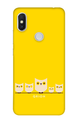 Owl Family Xiaomi Redmi Y2 Cases & Covers Online