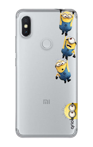 Falling Minions Xiaomi Redmi Y2 Cases & Covers Online