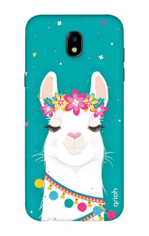 Cute Llama Samsung J7 2018 Cases & Covers Online