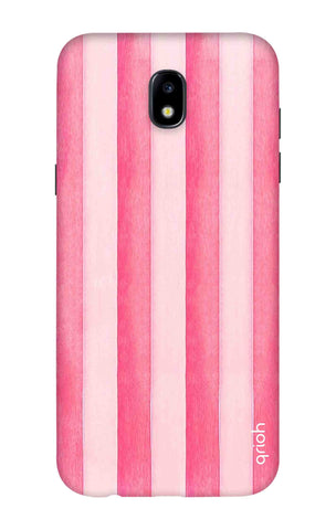 Painted Stripe Samsung J7 2018 Cases & Covers Online