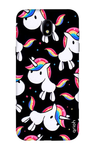 Colourful Unicorn Samsung J7 2018 Cases & Covers Online