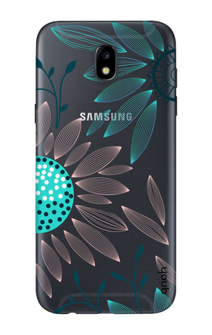 Pink And Blue Petals Samsung J7 2018 Cases & Covers Online