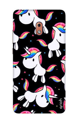 Colourful Unicorn Nokia 2.1 Cases & Covers Online