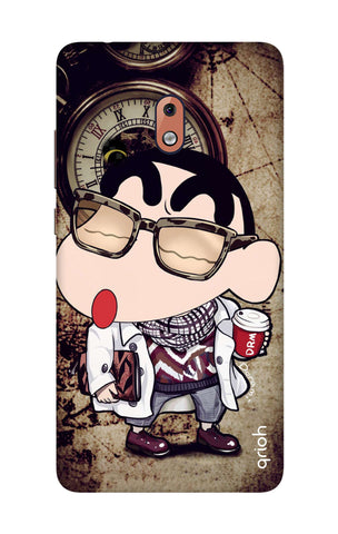 Nerdy Shinchan Nokia 2.1 Cases & Covers Online
