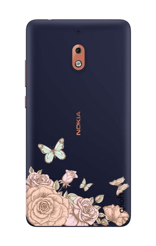 Flower And Butterfly Nokia 2.1 Cases & Covers Online