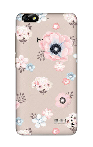 Beautiful White Floral Honor 4C Cases & Covers Online
