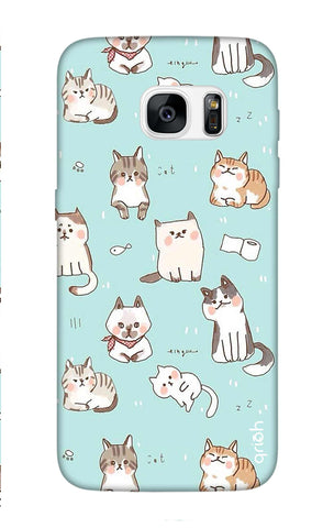 Cat Kingdom Samsung S7 Edge Cases & Covers Online