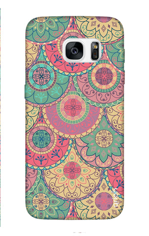Colorful Mandala Samsung S7 Edge Cases & Covers Online