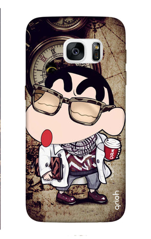 Nerdy Shinchan Samsung S7 Edge Cases & Covers Online