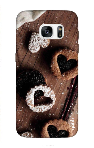 Heart Cookies Samsung S7 Edge Cases & Covers Online