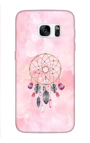 Pink Dreamcatcher Samsung S7 Edge Cases & Covers Online
