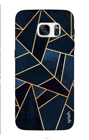 Abstract Navy Samsung S7 Edge Cases & Covers Online