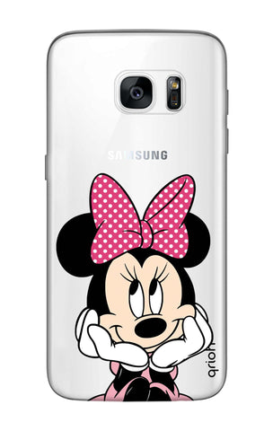 Minnie In Deep Thinking Samsung S7 Edge Cases & Covers Online