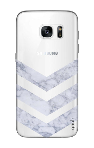 Marble Chevron Samsung S7 Edge Cases & Covers Online