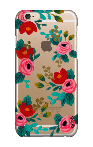Red Floral iPhone 6 Cases & Covers Online