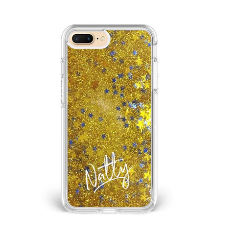 Glitter Name Custom Phone Cover - COD Not Available